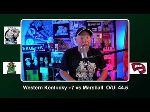 Western Kentucky vs Marshall Free College Football Picks and Predictions CFB Tips Saturday 10/10/20