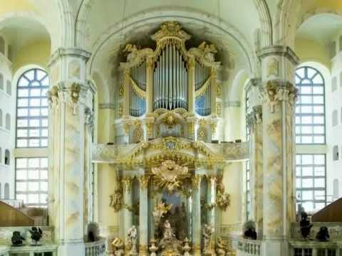 Dresden (INFO) Frauenkirche bombing and rebuilding Music Inessa Galante a.o. in part Requiem Mozart