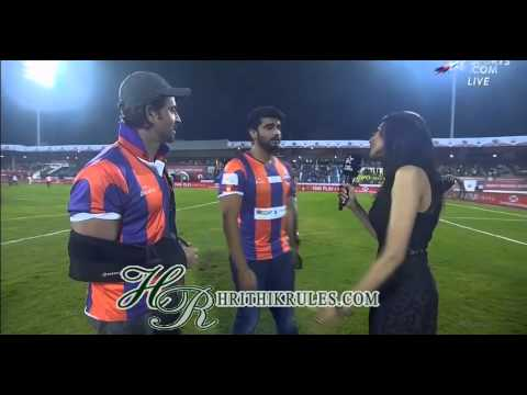 BromanceHrithik and Arjun on the field!