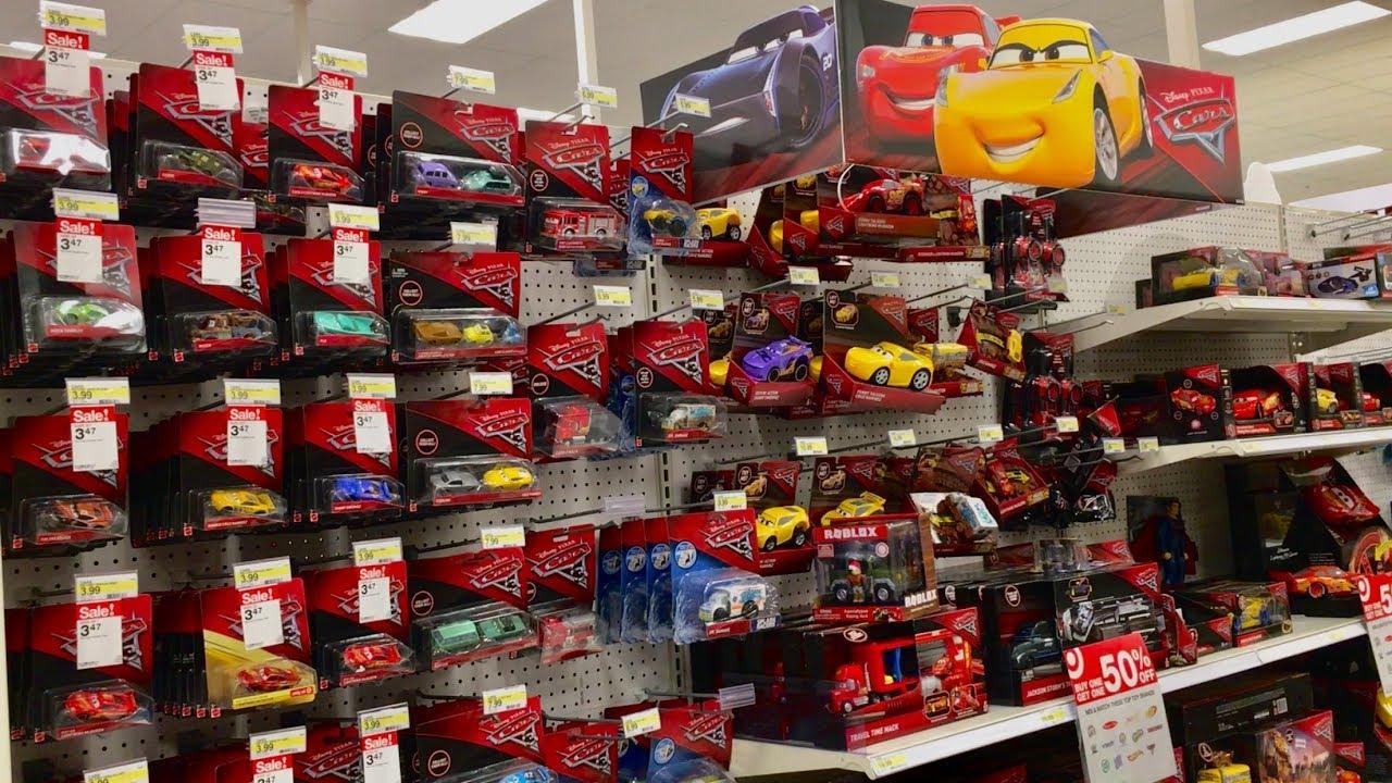 Target Cars Toys : Disney cars toys hunt 🔴 live black friday target toy