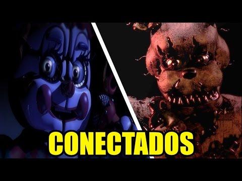 ¿FNAF Sister Location y El Five Nights At Freddy's 4 En Un Mismo Tiempo?