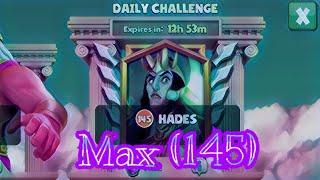 Hades Daily Challenge Max (145) Gods Of Olympus Video