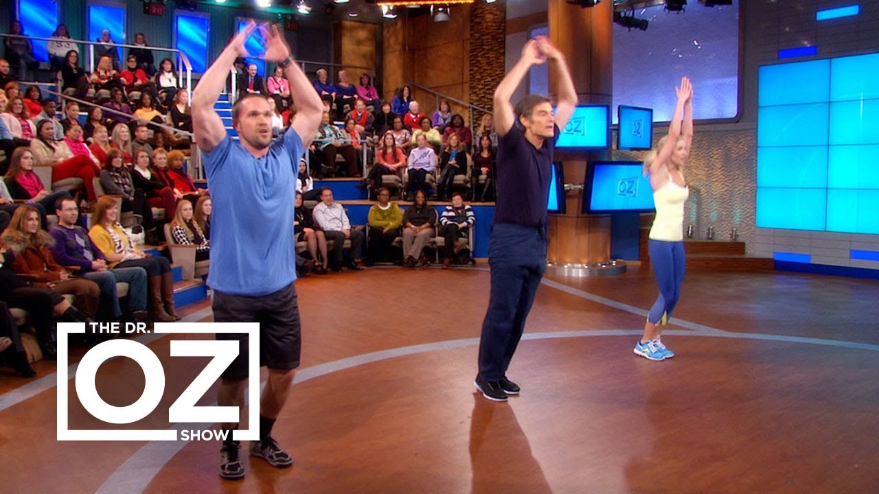 graphic about Dr Oz 7 Minute Workout Printable identify Chris and Heidi Powells 9-Instant Exercise routine