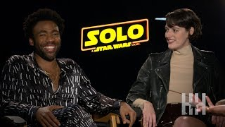 Baixar Donald Glover Dishes On Playing Lando Calrissian In 'Solo: A Star Wars Story'