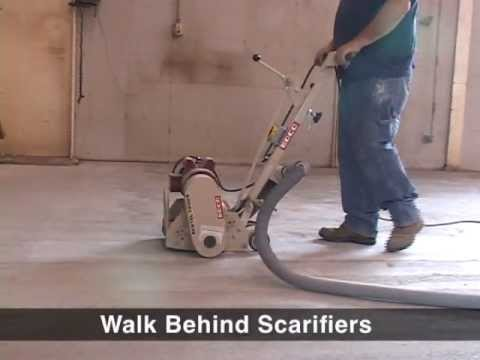 See Scarifiers In Action From EDCO