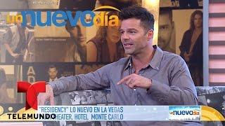 """""""Residency"""", ¡lo nuevo de Ricky Martin en Las Vegas!   Un Nuevo Día   Telemundo"""