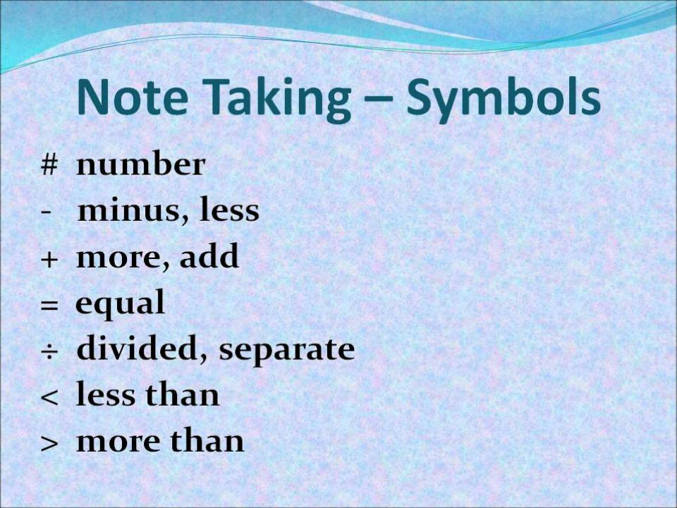 Consecutive Note Taking Part 2 Youtube