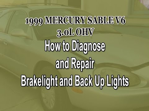hqdefault brake light backup light troubleshooting pt 2 mystery solved Diagram 2004 Crown Victoria Wiper Blades at mr168.co