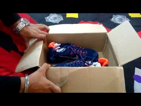 NIKE SHOES UNBOXING | INDIA | NIKE REVOLVE 2 BLUE :UNBOXING  MYNTRA