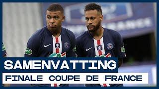 Hoofdrol Neymar en Mbappé in finale Coupe de France met publiek