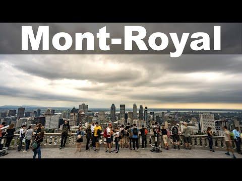 Le Mont-Royal et les belvédères...