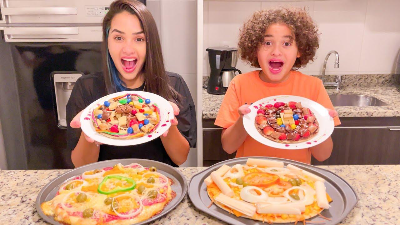 Download LORRAYNE VS RYAN QUEM FAZ A MELHOR PIZZA !!!