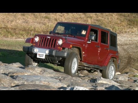 Attractive Jeep Wrangler Review | Consumer Reports   YouTube