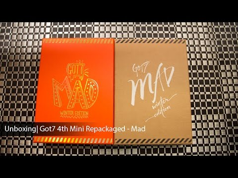 Unboxing | Got7 4th Mini Album Repackaged - Mad (Happy and Merry Edition)