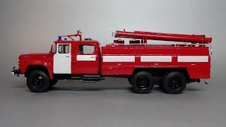 Зіл-133ГЯ Автоцистерна пожежна АЦ-40   Start Scale Models   Огляд масштабної моделі автомобіля 1:43