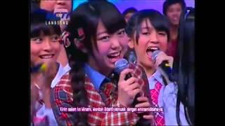 2012/07/28 放送 今回は、先日インドネシアのテレビ局RCTI[の音楽番組に...