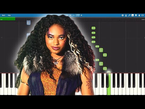 Disney's ZOMBIES 2 – We Own The Night – Piano Tutorial