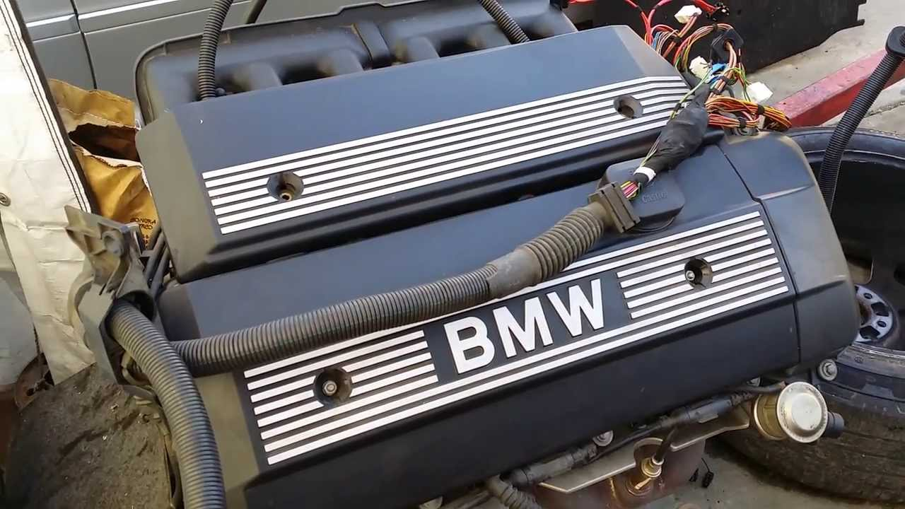 BMW M54 engine wire harness Diagram 525i 325i X5 530 330 Part 1  YouTube