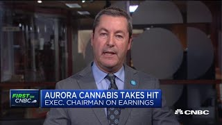 Aurora Cannabis' Michael Singer on earnings and vaping