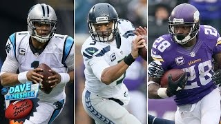 Which Teams Will Join Cam Newton's Panthers in the Playoffs? | Dave Dameshek Football Program | NFL