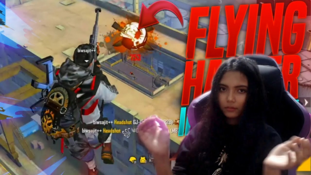 FREE FIRE LIVE - AWM Sniping With MISS DIYA | Garena Free Fire