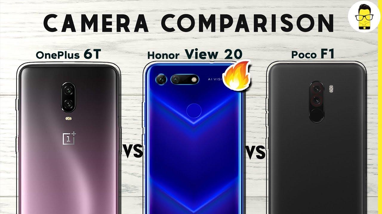 Honor View 20 vs OnePlus 6T vs Poco F1 camera comparison: one clear winner!