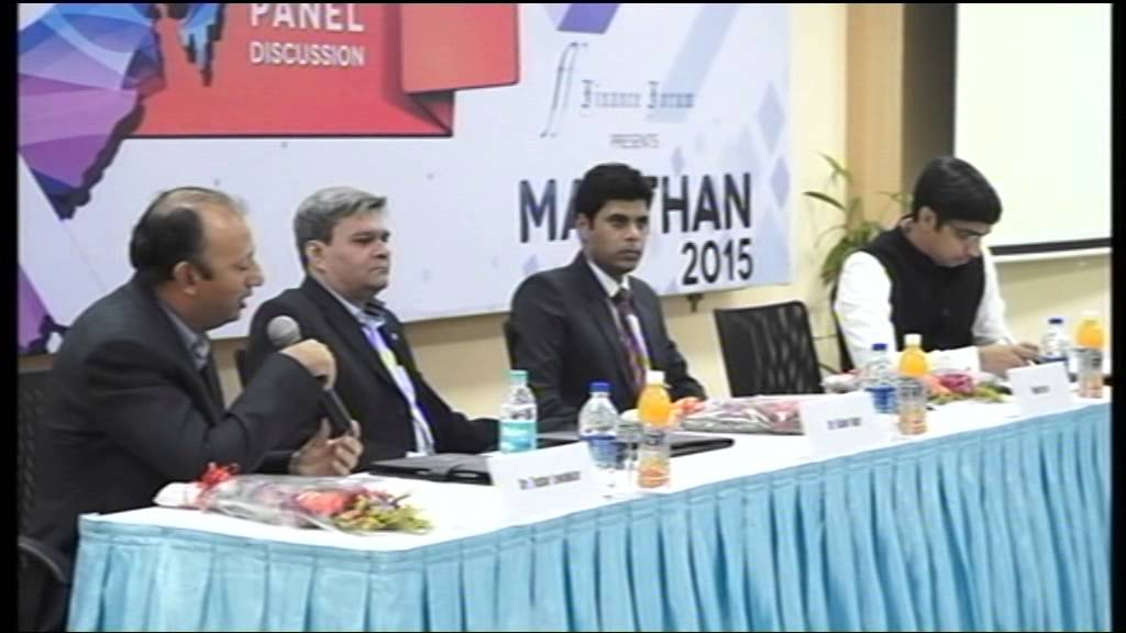 MANTHAN'15 The Budget Talk Part # 1/4