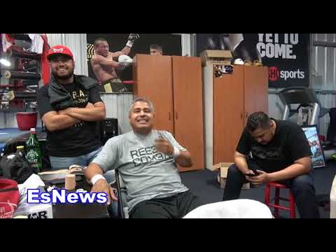 RGBA Fighter King Louie Recalls Sparring Ann Wolfe  EsNews Boxing