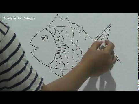 Gambar Ikan Mas Koki Untuk Diwarnai Gambar Mewarnai T
