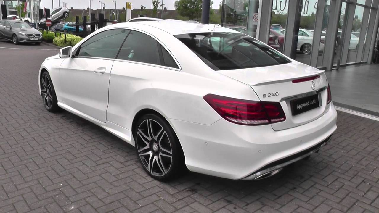 mercedes benz e class coupe e220 bluetec coupe u26574 youtube. Black Bedroom Furniture Sets. Home Design Ideas