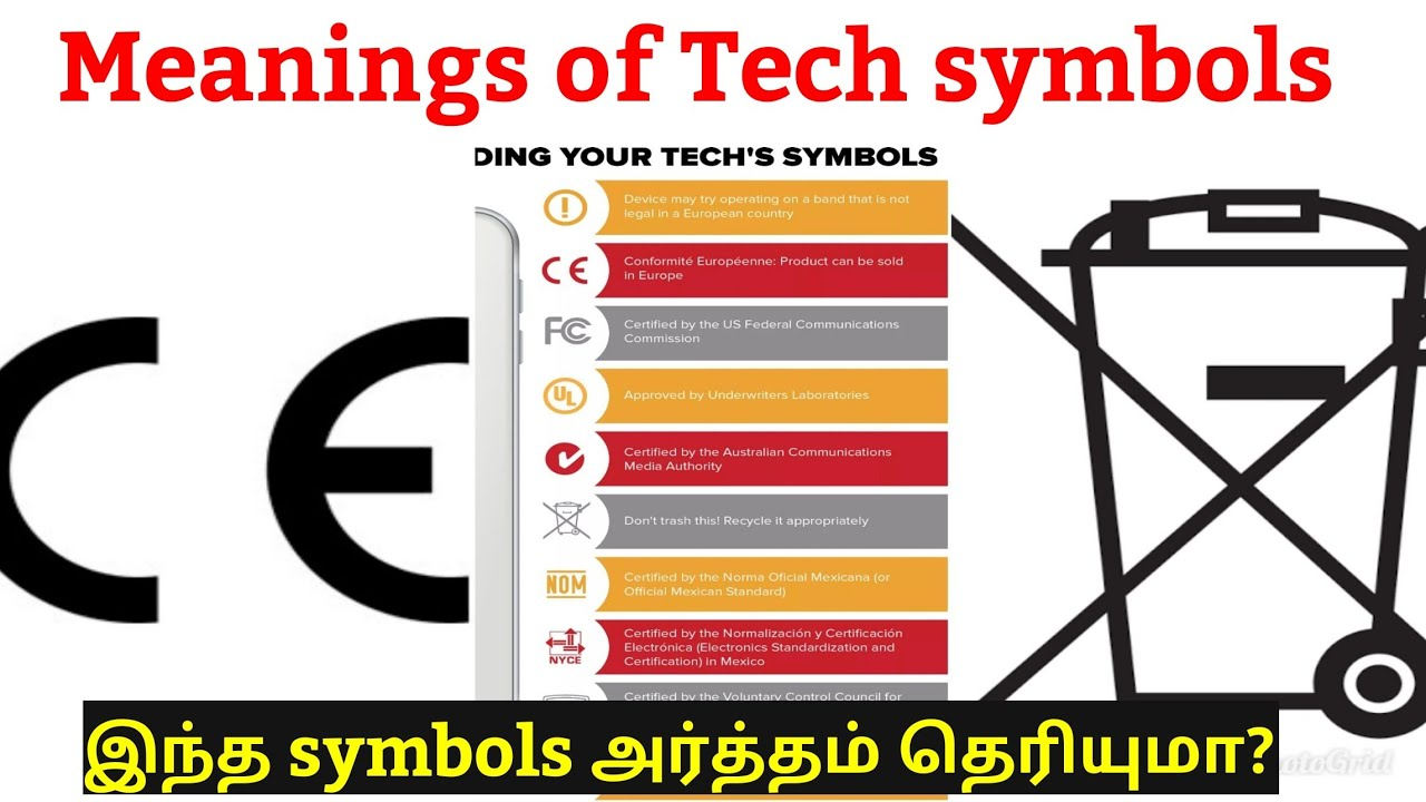 Decoding The Weired Symbols On Electronic Devices1 Min Tech16