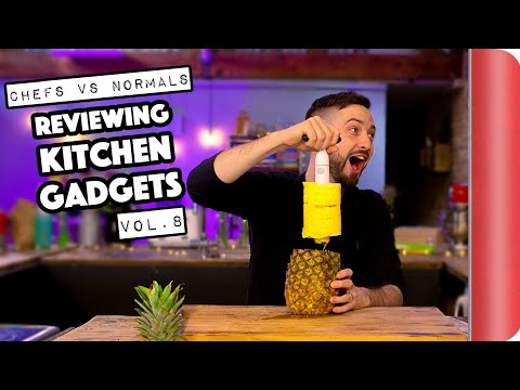 Chefs Vs Normals Reviewing Kitchen Gadgets Vol. 8