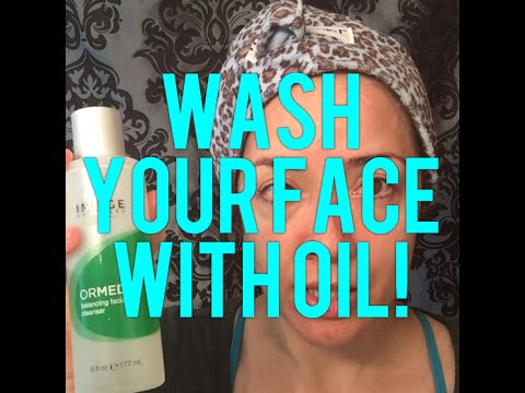Tutorial on oil cleansing/double cleansing