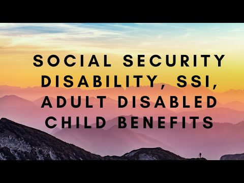 Social Security Disability, SSI, Adult Disabled Child Benefits | Sheri Abrams - Attorney In Virginia