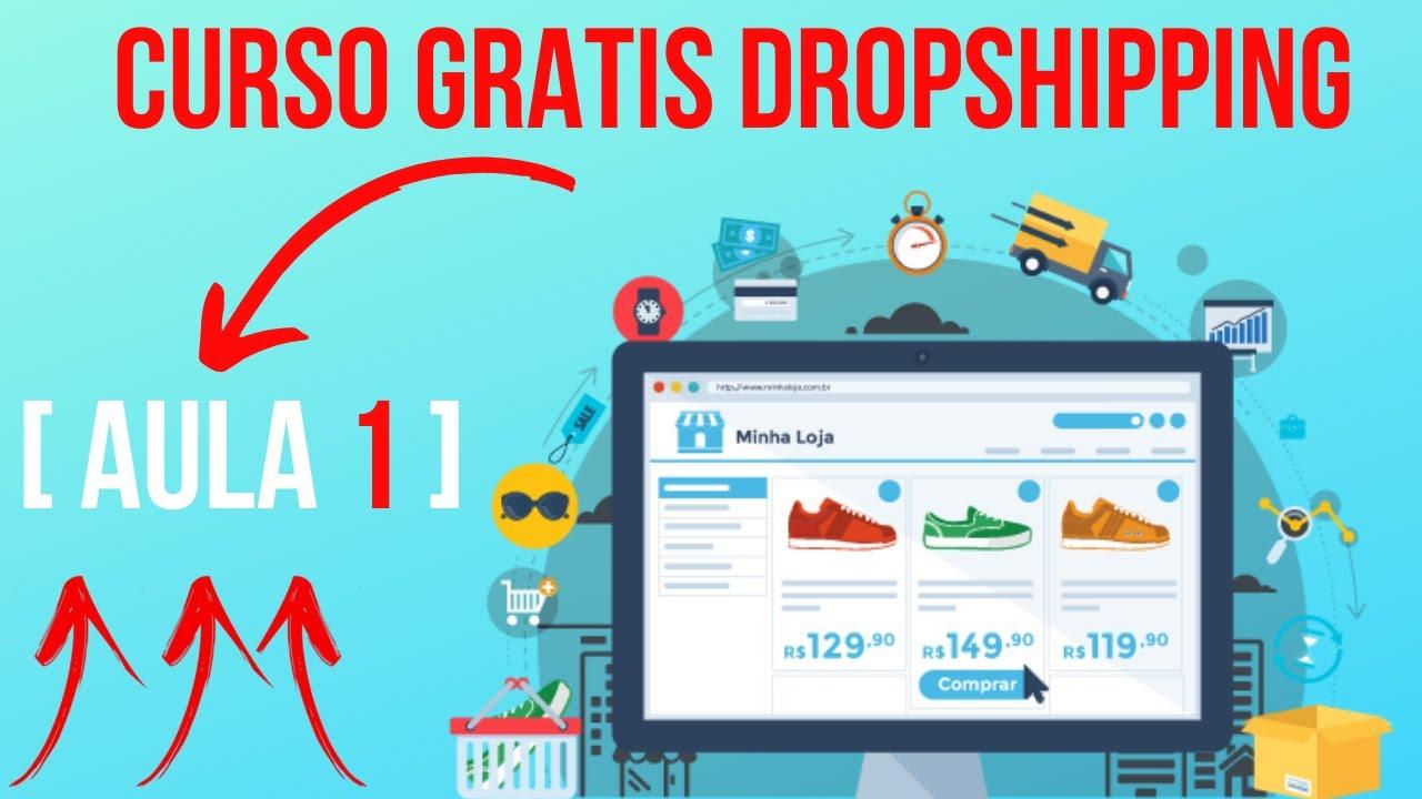curso gratis dropshipping Aula 1 | curso online | como fazer dropshipping