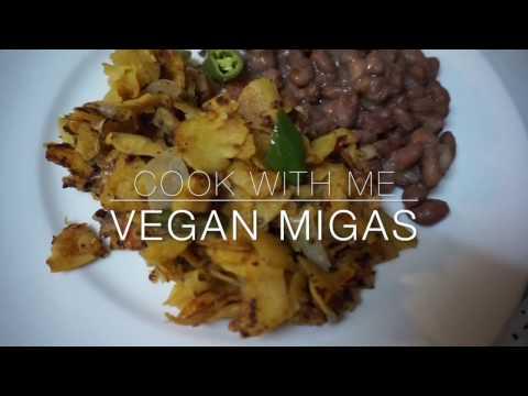 Cook With Me // Vegan Migas