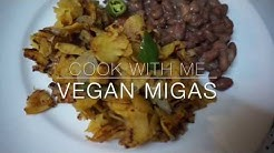 Cook With Me // Vegan Migas