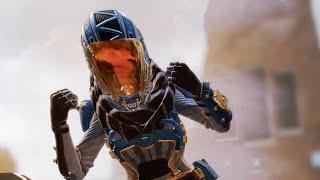 Apex Legends Wraith Legendary Phasewalker Skin Performing Existential Crisis Finisher! #4K #60FPS