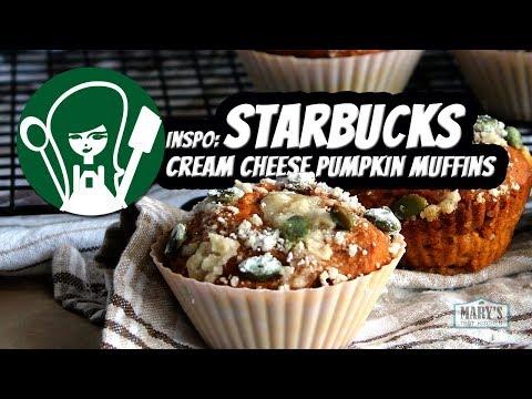 VEGAN STARBUCKS CREAM CHEESE PUMPKIN MUFFINS | Recipe by Mary's Test Kitchen