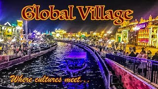 Vlog | Global Village 2018 | Dubai Shopping Festival | Anrene Lynnie Rodrigues