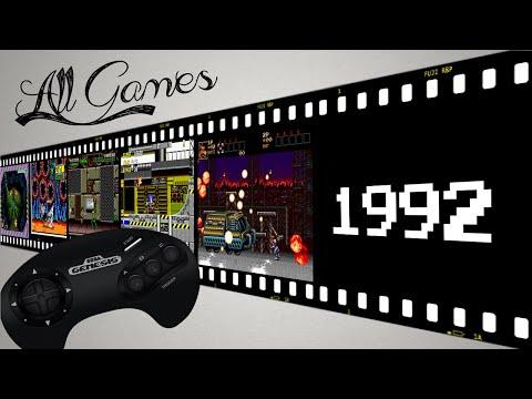 Все игры на Sega Mega Drive / All Games Sega Genesis [1995]