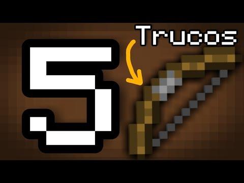 TOP 5 TRUCOS CON EL ARCO EN MINECRAFT PE