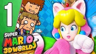 ATTRAPE LE LAPIN ETAGERE ! 🐰 | Super Mario 3D World Ep.1
