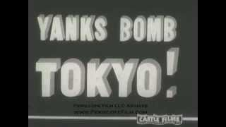 DOOLITTLE RAID ON TOKYO CASTLE FILMS silent NEWSREEL  2132