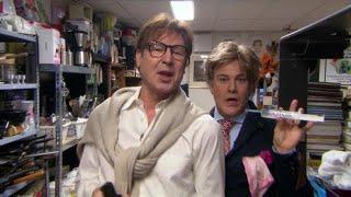 Frank en Rogier verbouwen de boel in De TV Kantine