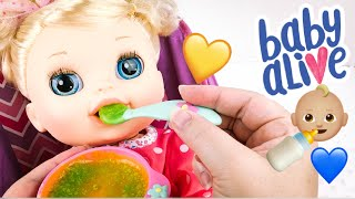 Baby Alive Real Surprises Doll Feeding