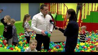 В Центре развлечений для детей Funny Land начал работать сухой бассейн