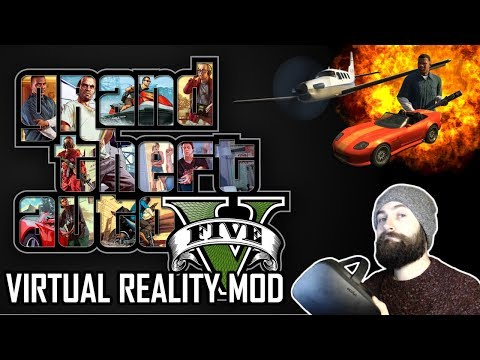Grand Theft Auto V VR Mod - GTA V In VR Is MIND BLOWING - Oculus Rift S Gameplay