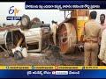 Speeding Car Rams into a Road Roller | 1 Dead, 4 Injured | at Kanchikacherla
