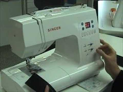 How to Use a computerized sewing machine « Sewing
